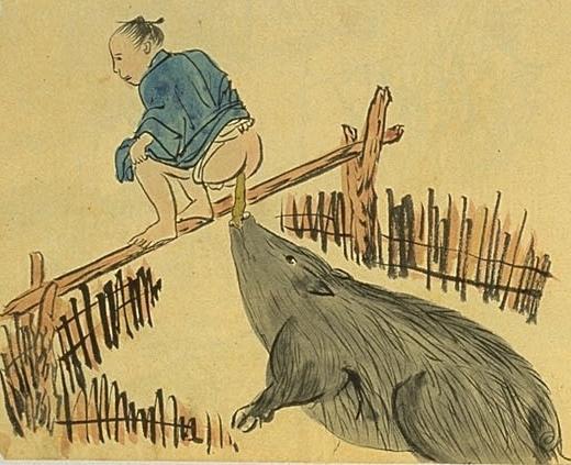 名越左源太 (1820-1881) - 《南島雜話》