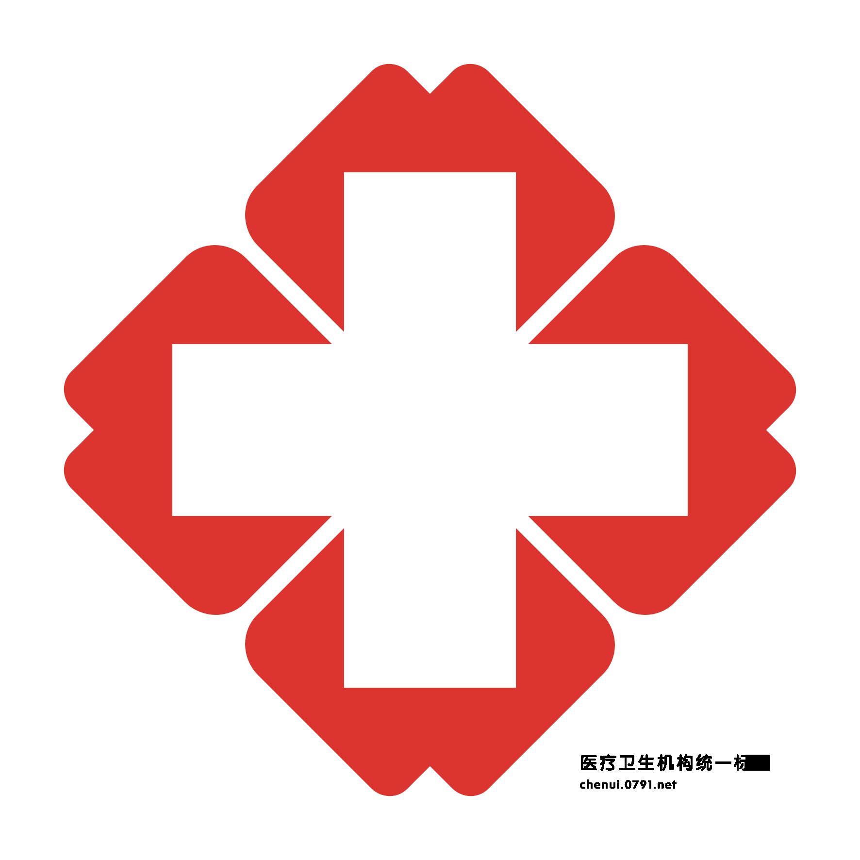 医院红十字标志的红色色标是多少